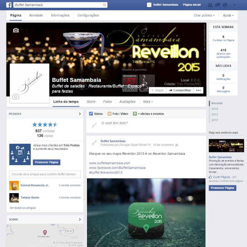 Criar página no facebook para empresas