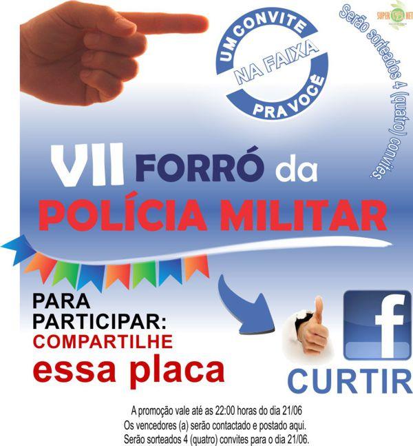 Forró da Polícia Militar - Três Pontas