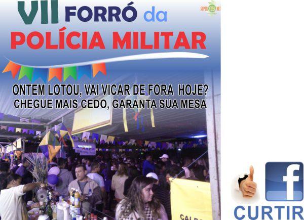 Forró da Polícia Militar - Três Pontas - Casa Lotada