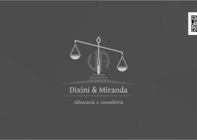 Criação logotipo Escritório de advocacia Dixini Advocacia