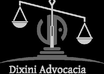 Criação do logotipo Escritório de advocacia Dixini Advocacia