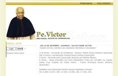 Site – Padre Victor