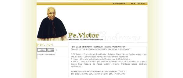 Site – Padre Victor