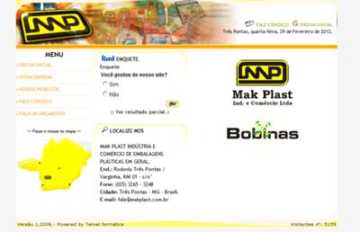 Site – MakPlast – Industria