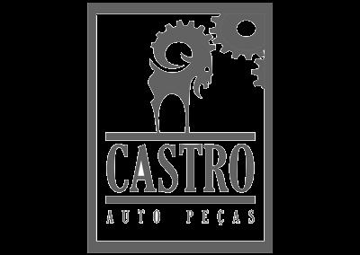 Criação de logotipo para Auto Peças Castro - Três Pontas/MG